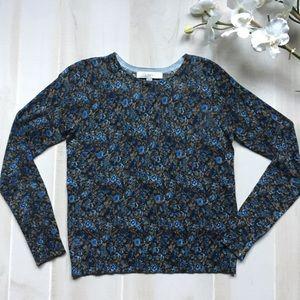 NWOT Loft Floral Sweater